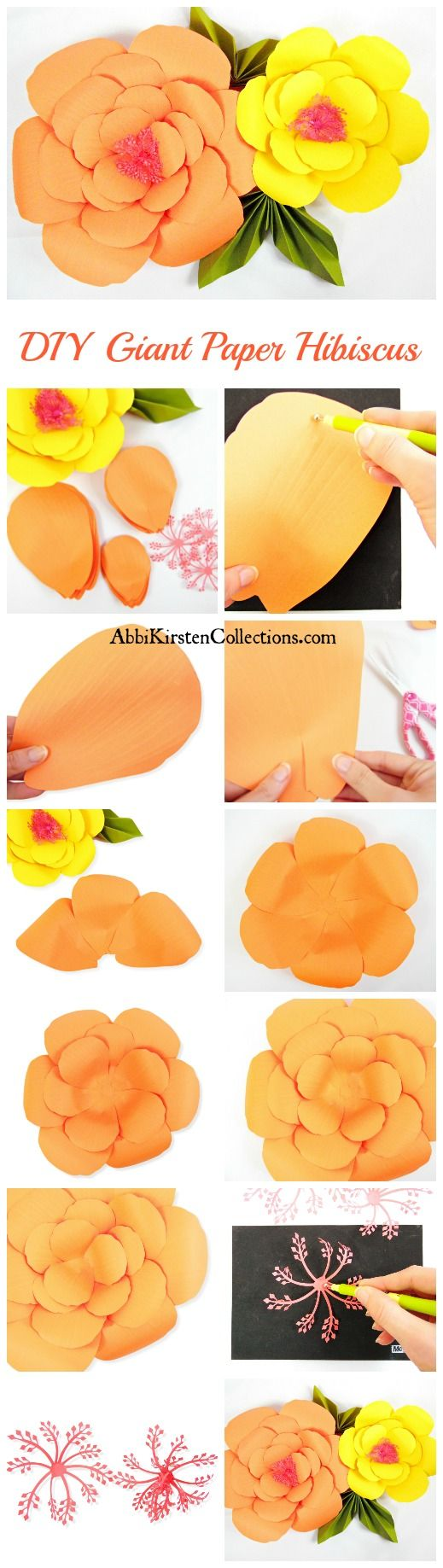 giant paper flower kits