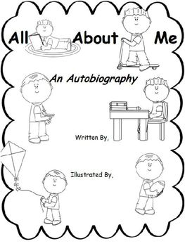 25+ best ideas about Autobiography Template on Pinterest