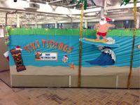 Surfing santa | Hawaiian/Beach/Sea Decor Ideas | Pinterest ...