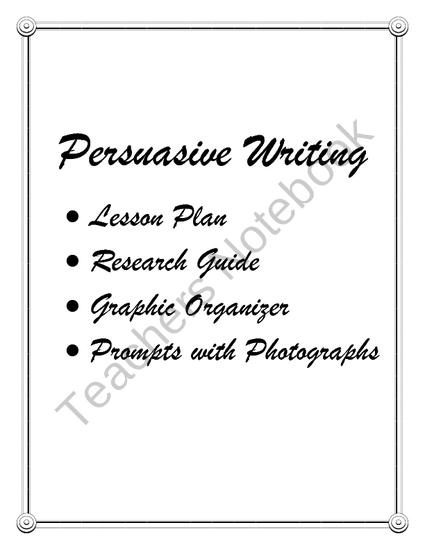 41 best images about persuasive writing on Pinterest