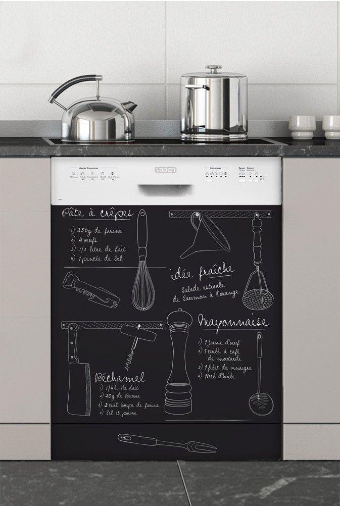 un mur en ardoise dans votre cuisine. Black Bedroom Furniture Sets. Home Design Ideas