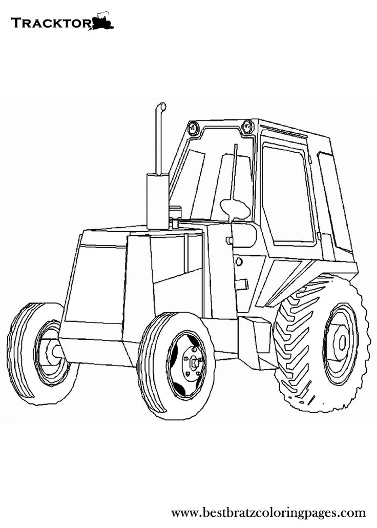Allis Chalmers Tractor Coloring Pages Coloring Pages
