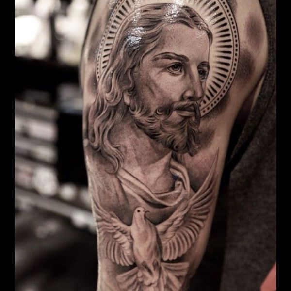 20 San Judas Tadeo Tattoos On Chest Ideas And Designs