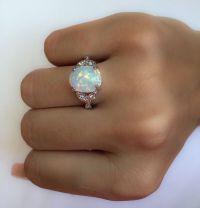 Best 25+ Opal rings ideas on Pinterest | Opal jewelry ...