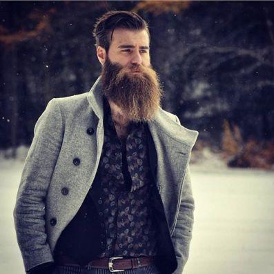 Image result for sleek brooklyn hipster man beard