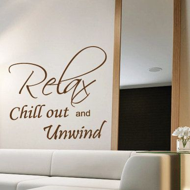 Relax Bedroom Wall Quotes Art Stickers Decals Mural From Amazingsticker