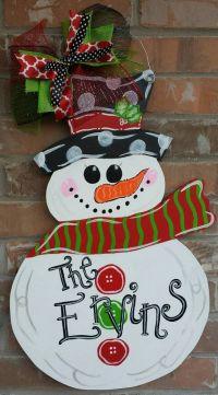 25+ Best Ideas about Snowman Door on Pinterest   Pumpkin ...