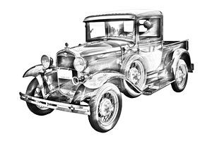 17 Best images about 1930 & 1931 Ford Model A Pickups and