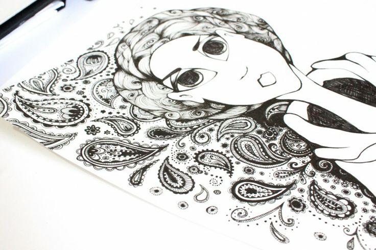 1000+ images about Sketchbook Illustration & Pattern