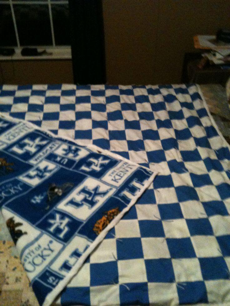 Kentucky Wildcat Quilt  Quilts  Pinterest