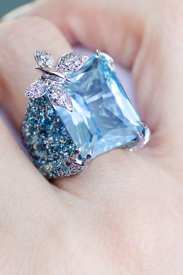 25 best ideas about Blue Topaz Ring on Pinterest Blue