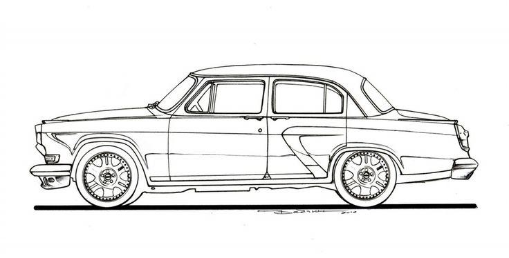 Проект ГАЗ-21 на базе Mercedes ML 5.5 AMG: волговский