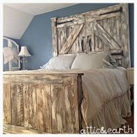 1000+ ideas about Barn Door Headboards on Pinterest | Door ...