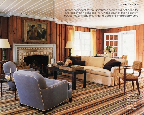 StyleFile 10 Pine Paneling Is Making A Comeback Knotty