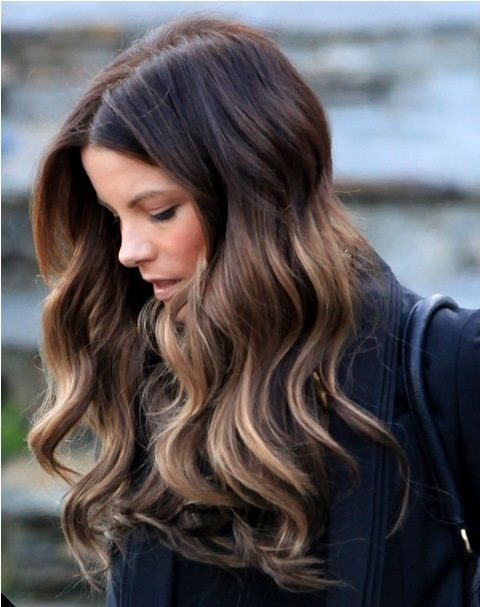 dark ombré for brunettes.