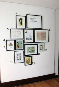 25+ best ideas about Photo Wall Layout on Pinterest ...