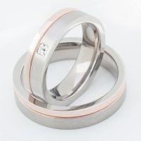 Two Matching Wedding Bands Promise Rings for by ...