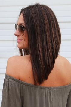 25 Best Ideas About Long Angled Bob Hairstyles On Pinterest
