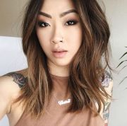 ideas asian balayage