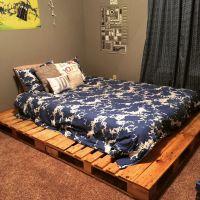 Best 25+ Pallet platform bed ideas on Pinterest | Diy bed ...