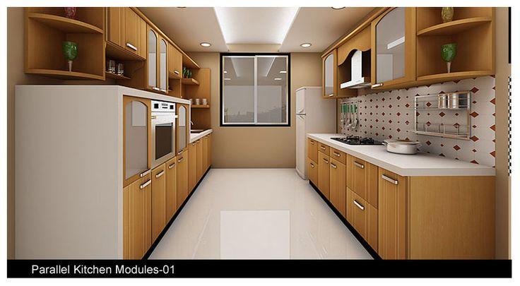 Parallel Kitchen Design India - Google Search