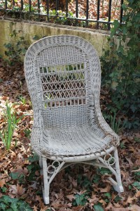 Antique Wicker Rocking Chair - WoodWorking Projects & Plans