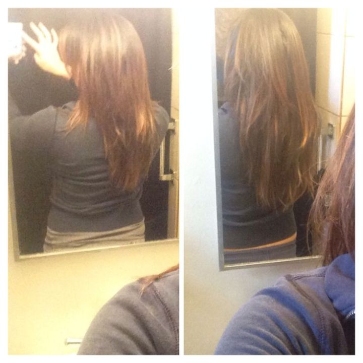 Before And After Ultras Hair Pills They Work One Month Growth No Extensions