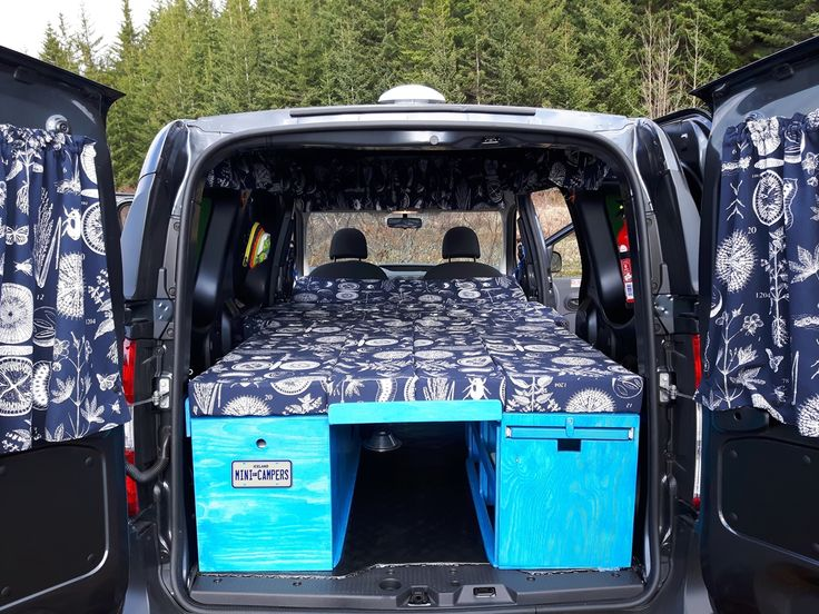 rv sofa bed beds mattresses replacements dacia dokker. imini camper van with comfortably sleeping ...