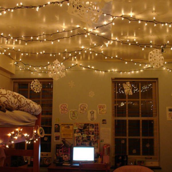 20 Best Ideas About Christmas Lights In Bedroom On Pinterest Room And Light Canopy
