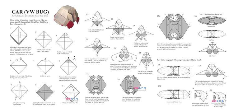 origami carorigami car diagramcar origamiorigami car diagramsmoney