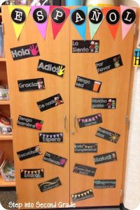 25+ best ideas about Spanish classroom decor on Pinterest