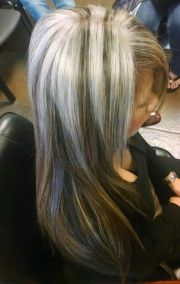 platinum silver thick highlights