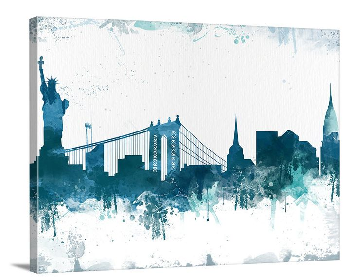 17 of 2017's best New York Skyline Silhouette ideas on