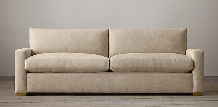 who makes the maxwell sofa for restoration hardware best down sectional petite | living room ...