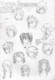 miranda - anime drawing