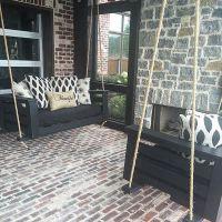 1000+ ideas about Pallet Porch Swings on Pinterest | Porch ...