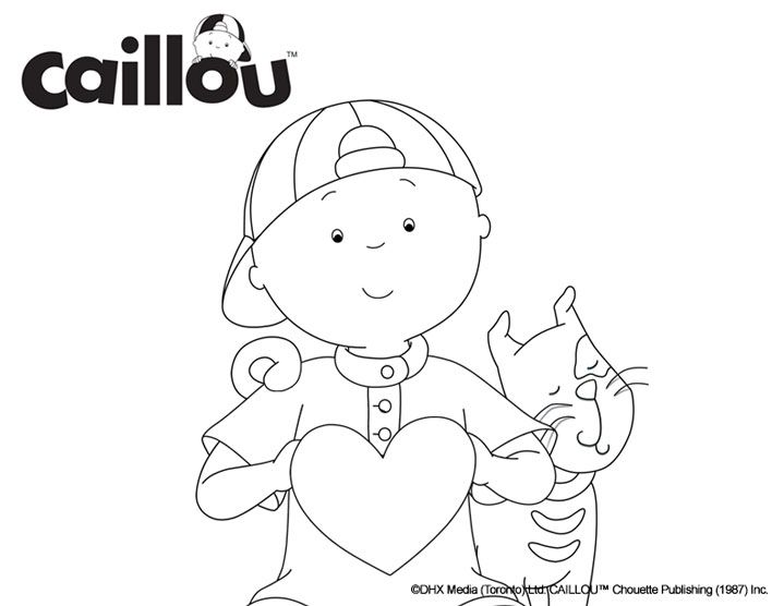 144 best images about Caillou Activities & Printables! on