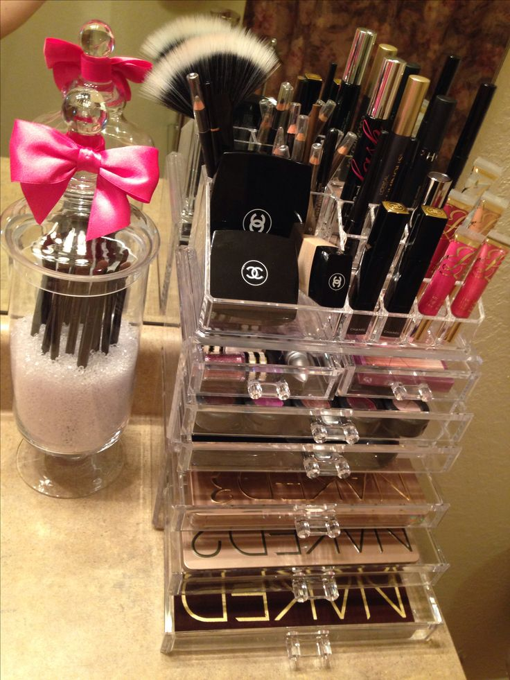 Acrylic makeup organizer my way  MakeUp  Pinterest