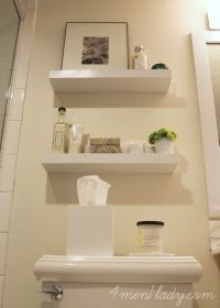 17 Best ideas about Floating Shelves Bathroom on Pinterest