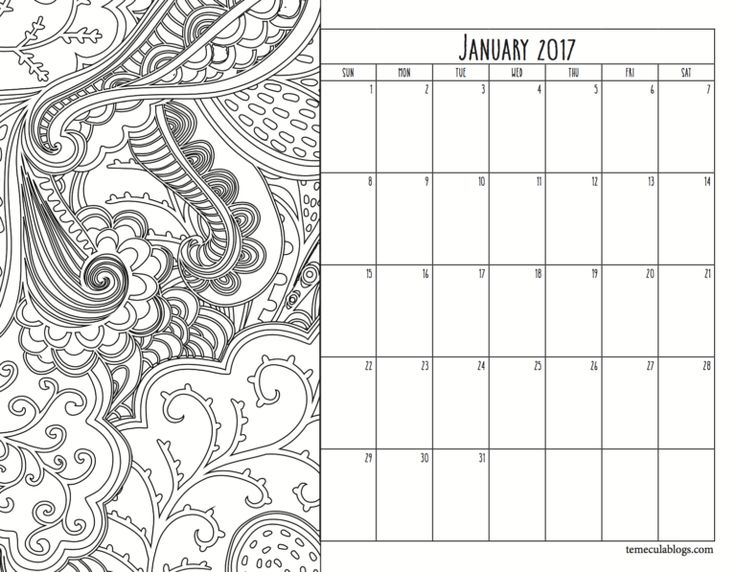 17 Best ideas about Free Printable Monthly Calendar on