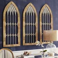 Evoking the drama of an old-world cathedral, our arched ...