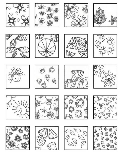8127 best images about Zentangle patterns on Pinterest