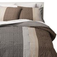 Room Essentials MicroGeo Colorblock Comforter Set | For ...