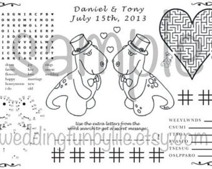 1000+ ideas about Kids Wedding Activities on Pinterest