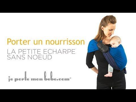 videos tutos la petite echarpe sans noeud porte bebe echarpe de por e