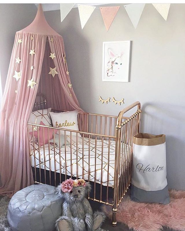 17 Best ideas about Canopy Over Crib on Pinterest
