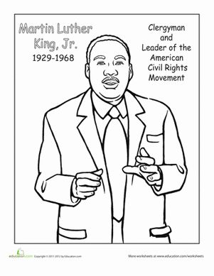 17 Best images about Martin Luther king,Jr worksheet on