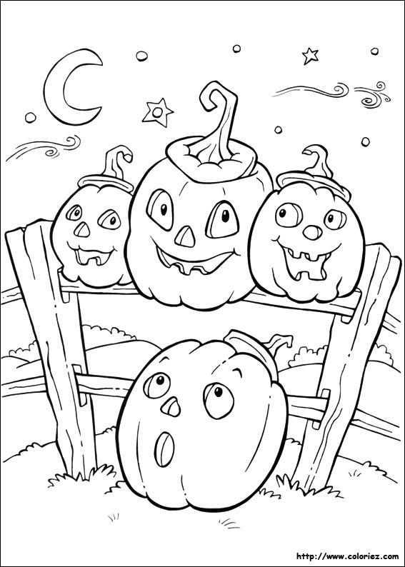 17 Best images about Coloring pages: Halloween on
