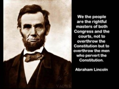"""""""We the people ... """""""