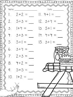 17 Best images about Elementary School Math Worksheets